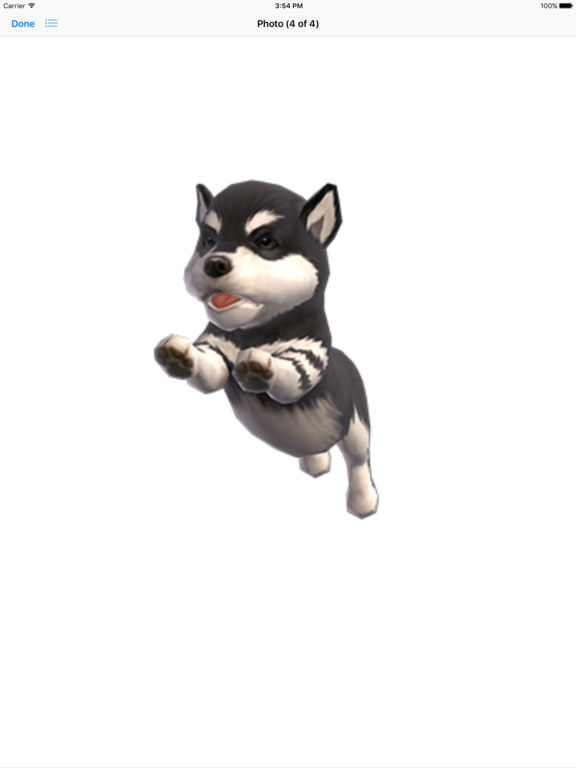 Malamute - Animated Puppy Stickers screenshot 8