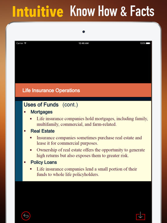 Life and Health Insurance License Exam-Study Guide screenshot 6
