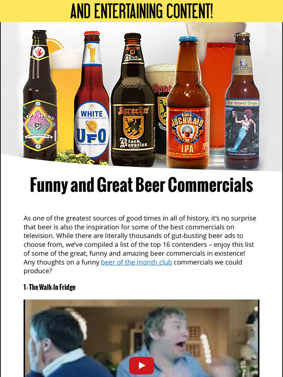 HomeBrew Beer Magazine - Brew Your Own Beer @ Home screenshot 8