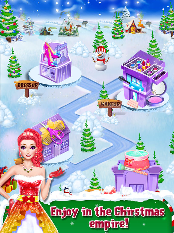 Christmas Doll Party Makeover screenshot 8
