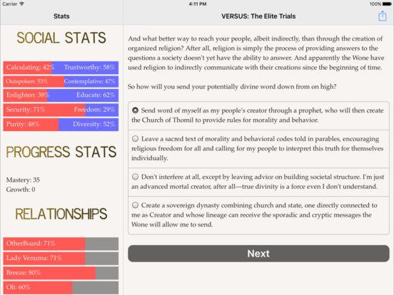 VERSUS: The Elite Trials screenshot 8