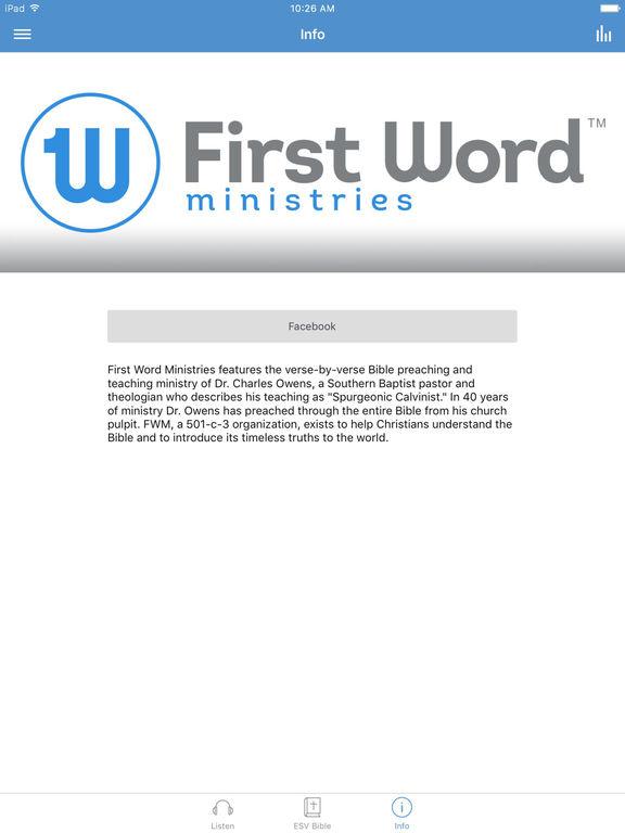 First Word Ministries screenshot 6