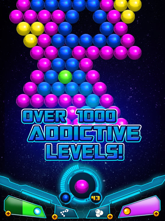 Bubble Shooter Sky Escape screenshot 9