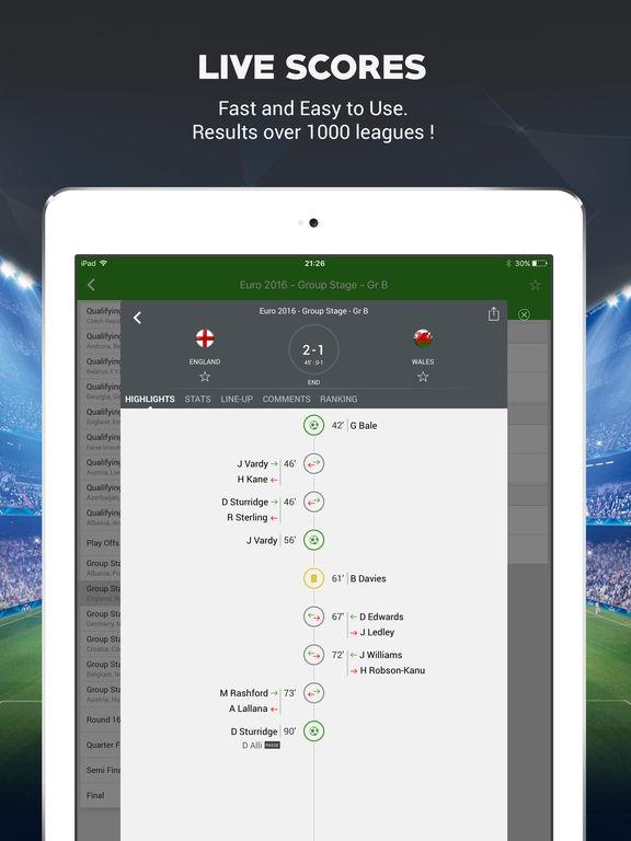Live Soccer Scores -Skores screenshot 7