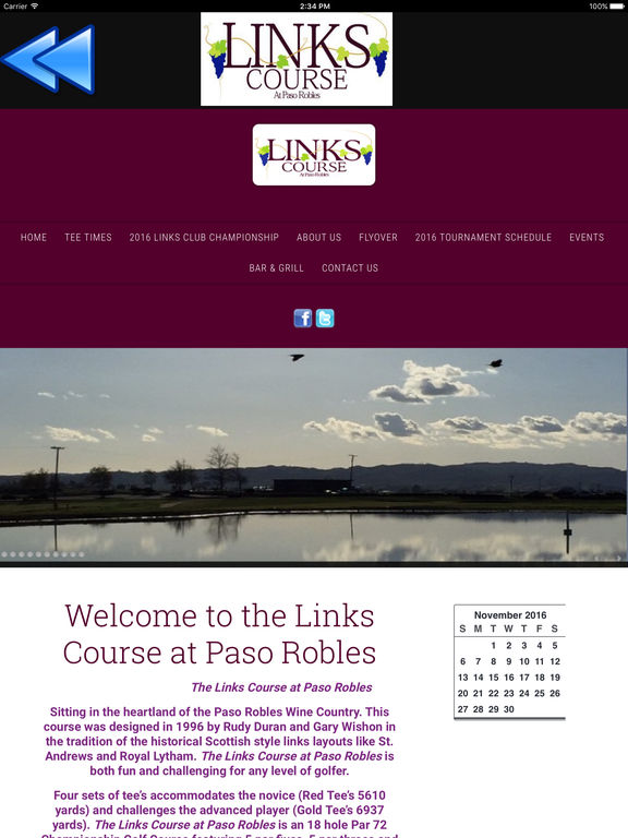 The Links Golf Course at Paso Robles Mobile App screenshot 5