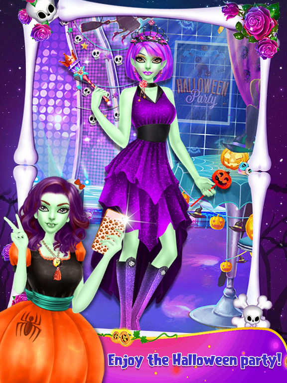 Halloween Spooky Doll Makeover screenshot 10