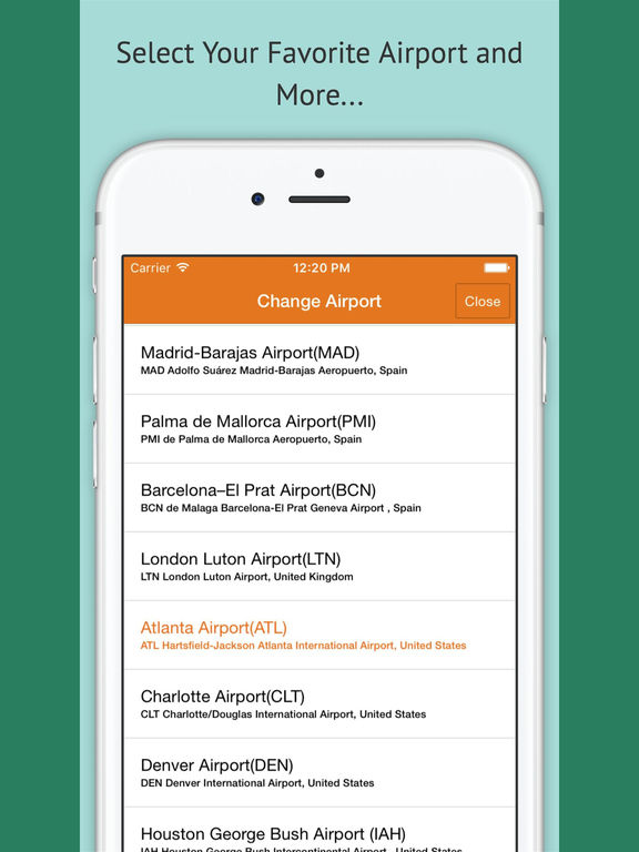 Airport Map - Find Gates & Places Inside Airports screenshot 10