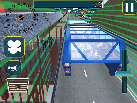 Vr City Elevated Bus : Gyro-scope Bu-s Par-king screenshot 6