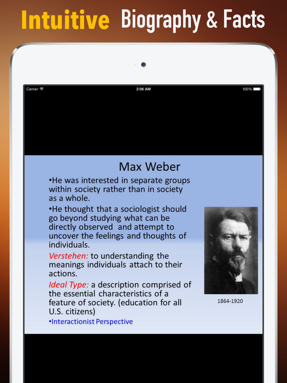 Biography and Quotes for Max Weber: Life with Documentary screenshot 6