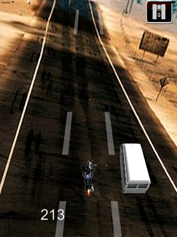 A Nitro Biker Race Ultra - Motorcycle Driving 3D Game screenshot 9