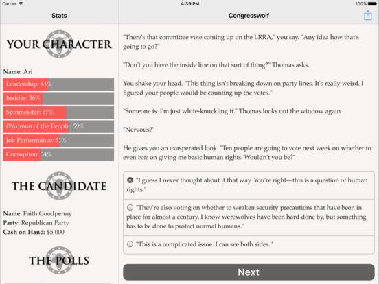 Congresswolf screenshot 10