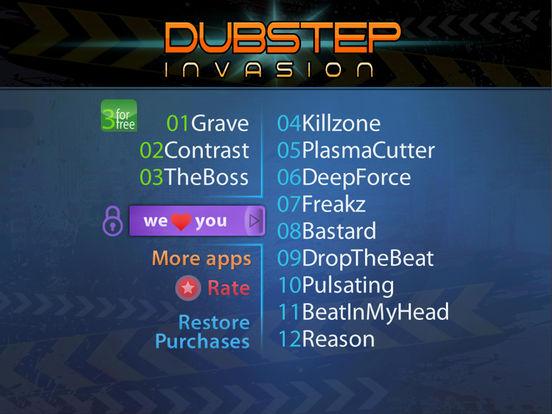 Dubstep Invasion: Music And Song Maker (Premium) screenshot 5