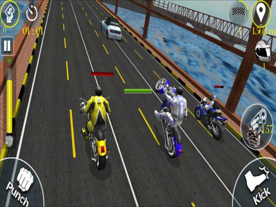 Bike Stunt Fight - Attack Race screenshot 8