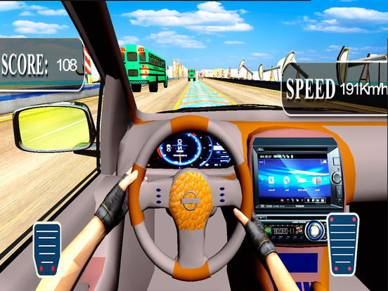 City Car Drive : New Highway Traffic Racing Game screenshot 5