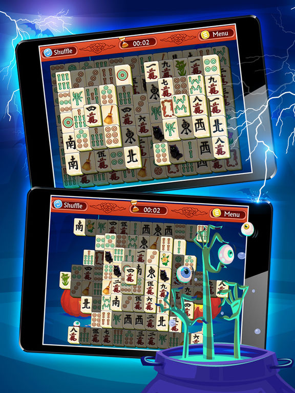 Magic Halloween Mahjong - Haunting Classic Majong screenshot 8