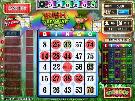Irish Treasure Rainbow Bingo screenshot 6