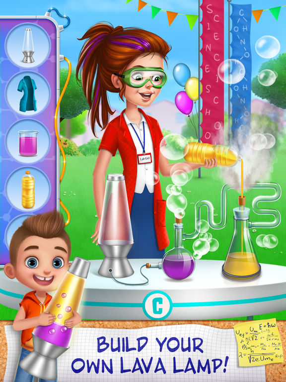 Science Girl Super Star screenshot 7