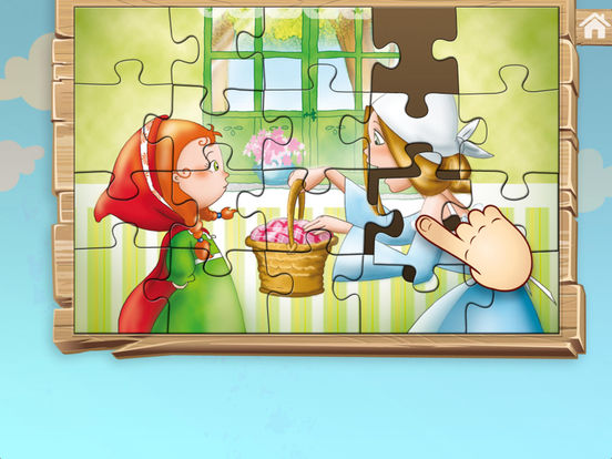 Little Red Riding Hood - Jigsaw Puzzle (Premium) screenshot 9