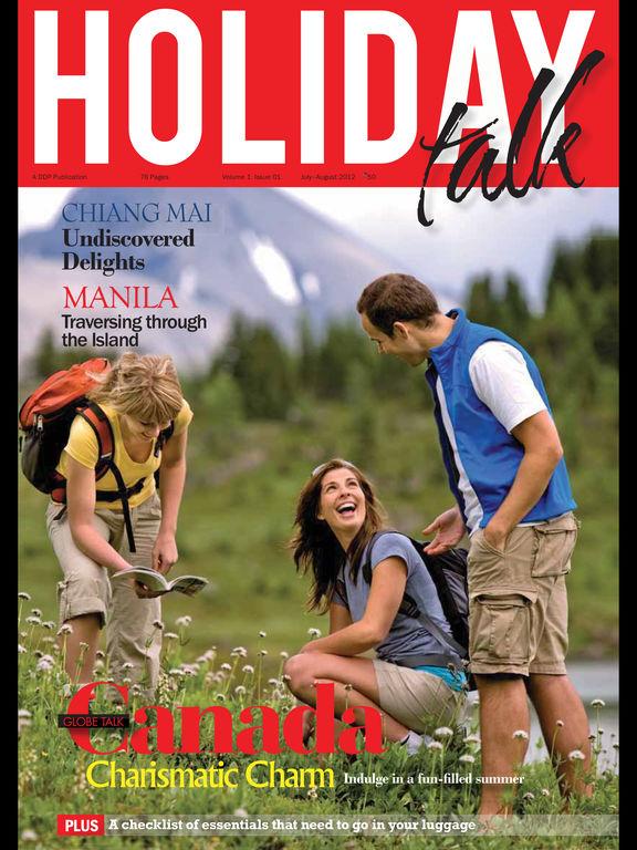 Holiday Talk Magazine screenshot 6