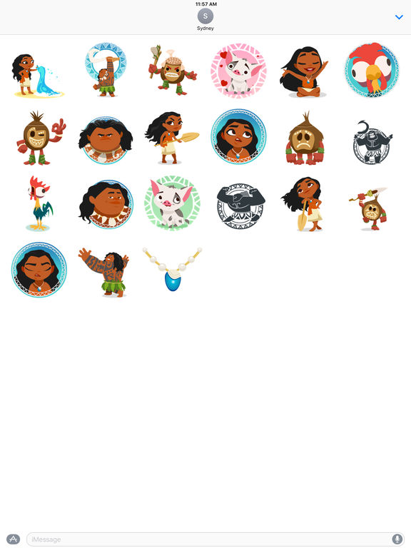 Disney Stickers: Moana screenshot 10