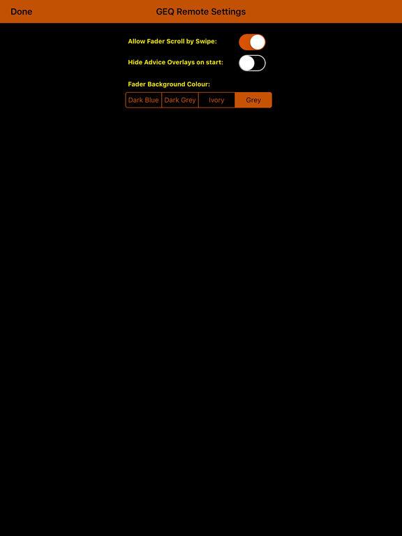 GEQ Remote screenshot 6