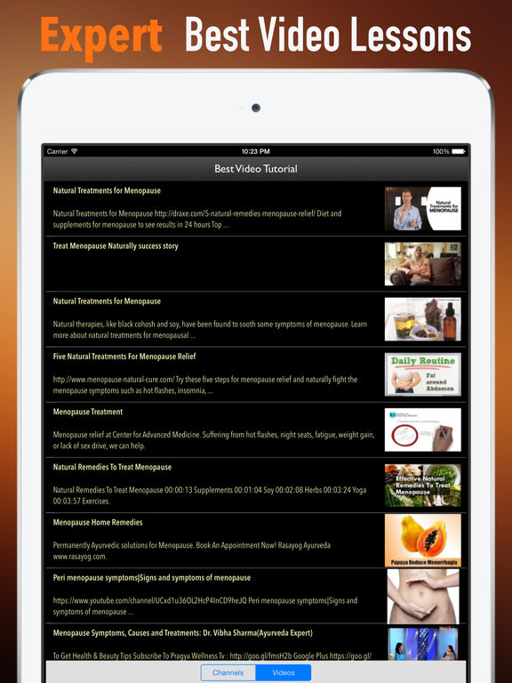 Natural Menopause Treatments:Women Health screenshot 8