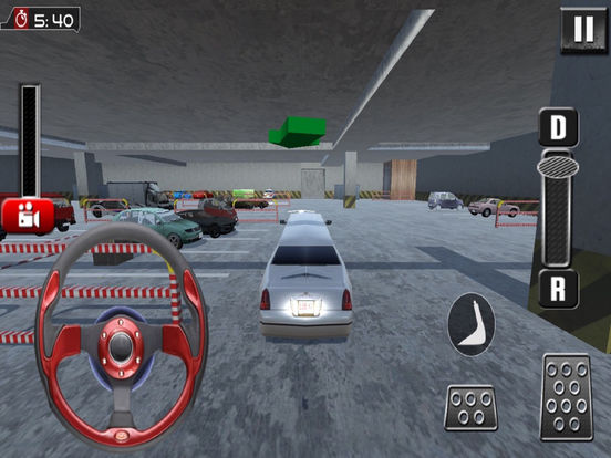 Garage Limousine Parking : 3D Free Par-King Game-s screenshot 6