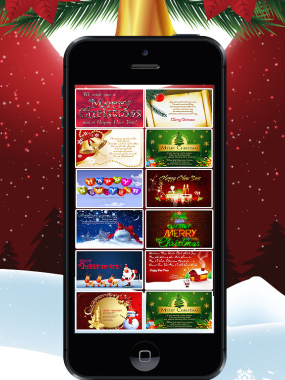 Merry Christmas & Happy Near Greeting Cards screenshot 5