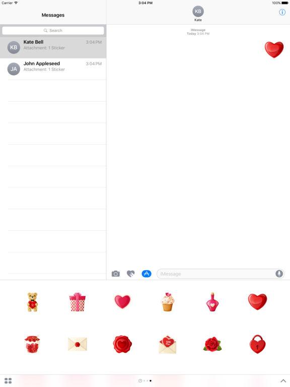 Love - Stickers screenshot 6