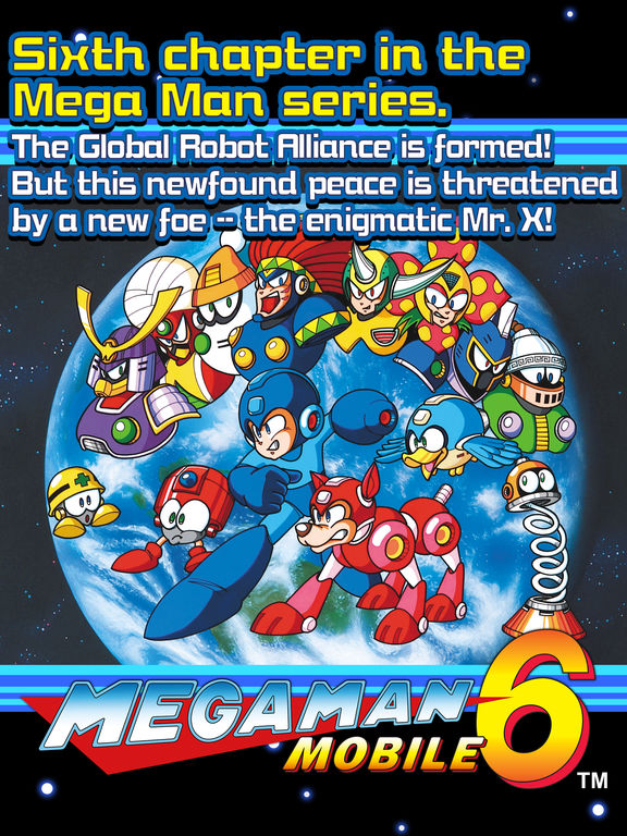 MEGA MAN 6 MOBILE screenshot 5