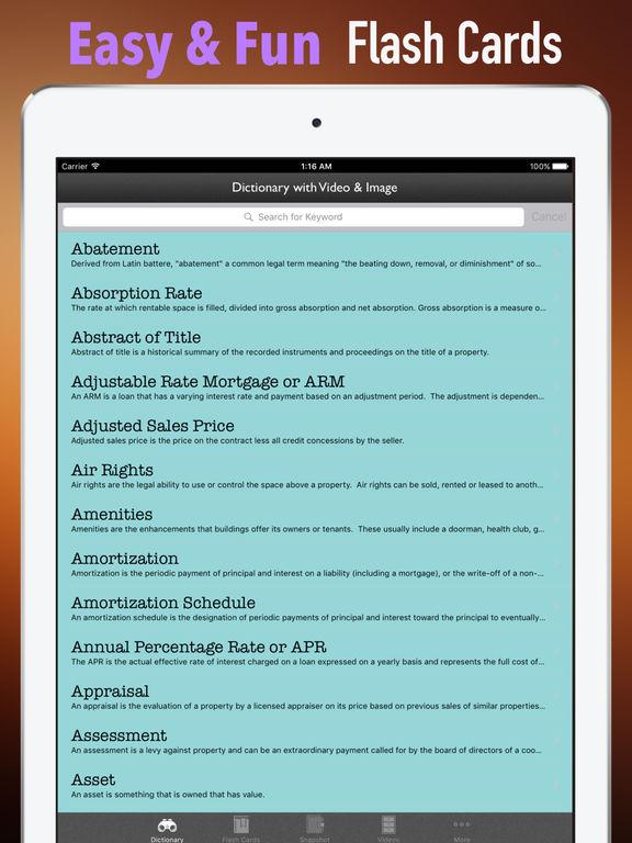 Real Estate Exam Study Guide-Test Prep Courses screenshot 9