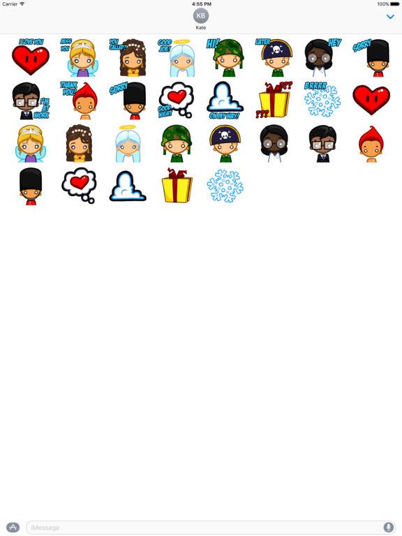 Fun Friends - Stickers screenshot 10