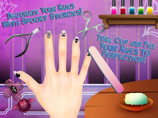 Funny Halloween Party 2 - Dress Up, Makeup & Nails screenshot 8