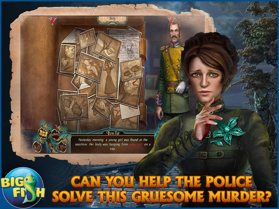 Dark Tales: Edgar Allan Poe's The Tell-tale Heart - A Hidden Object Mystery (Full) screenshot 7