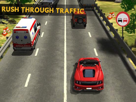City Highway Racer Car Fast Traffic - Real Games screenshot 6