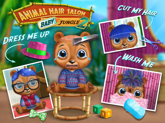Baby Animal Hair Salon 2 screenshot 6