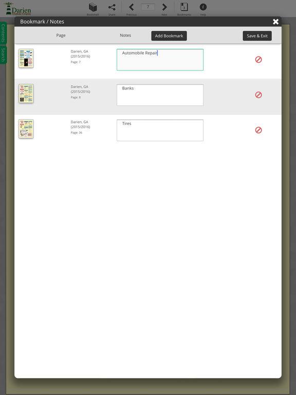 Darien Directory screenshot 9