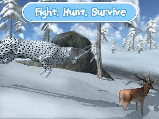 Wild Snow Leopard: Animal Simulator Full screenshot 6