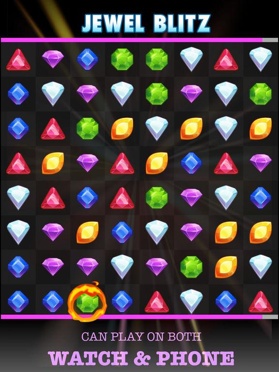 Jewel Blitz (Watch & Phone) screenshot 5