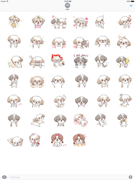 Dog Charming Stickers screenshot 4