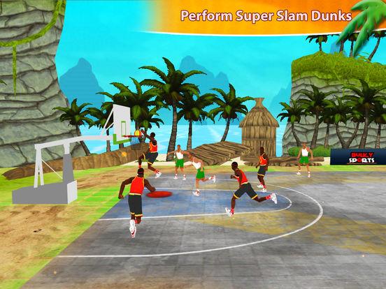 Beach Basketball Hoops - Slam Dunks for NBA Fans screenshot 5
