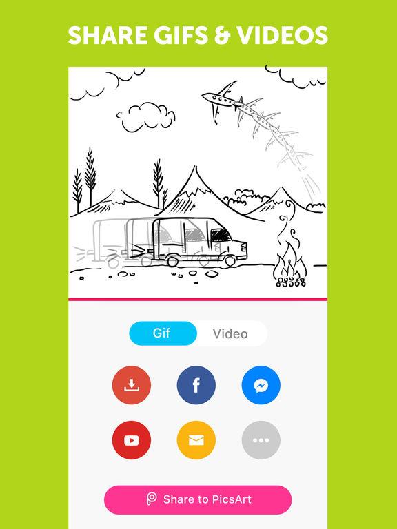 PicsArt Animator - GIF & Video screenshot 10