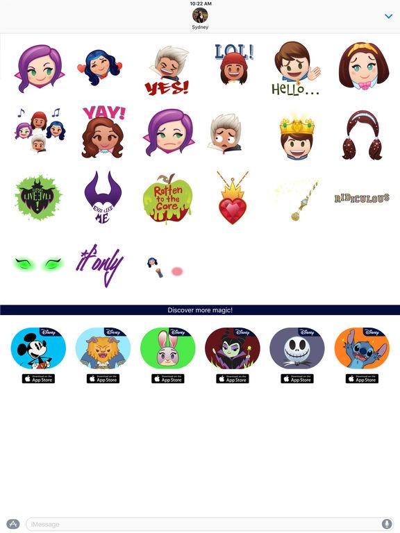 Disney Stickers: Descendants screenshot 10